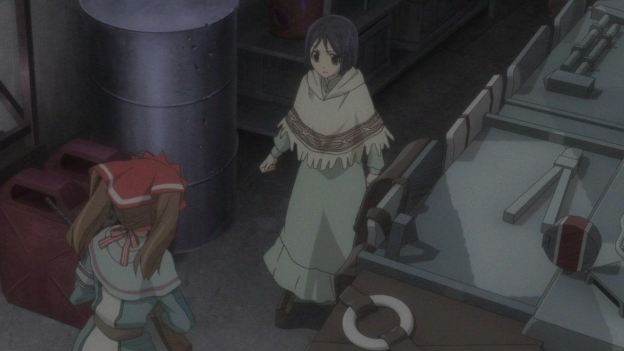 Скриншот из аниме Хроники Валькирии