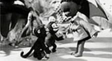 Негритёнок Самбо против тигра