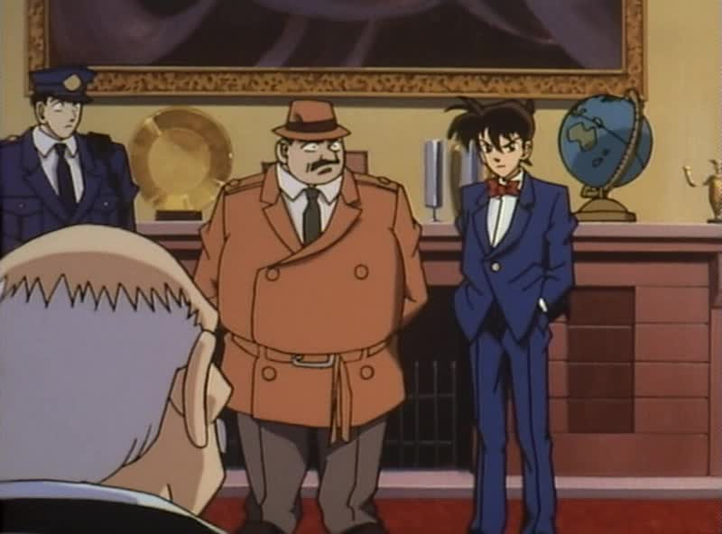 Кадр из аниме Детектив Конан [ТВ]