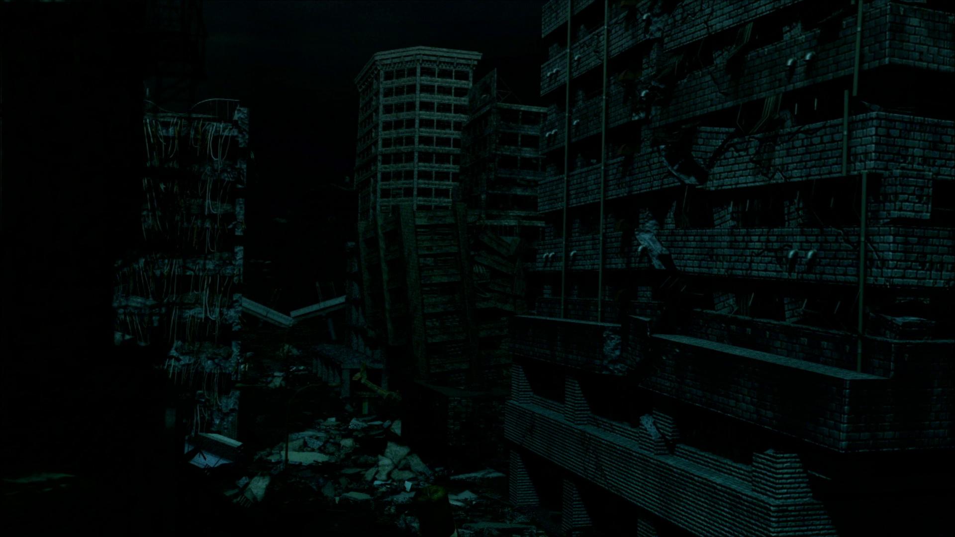Кадр из аниме Яблочное зернышко