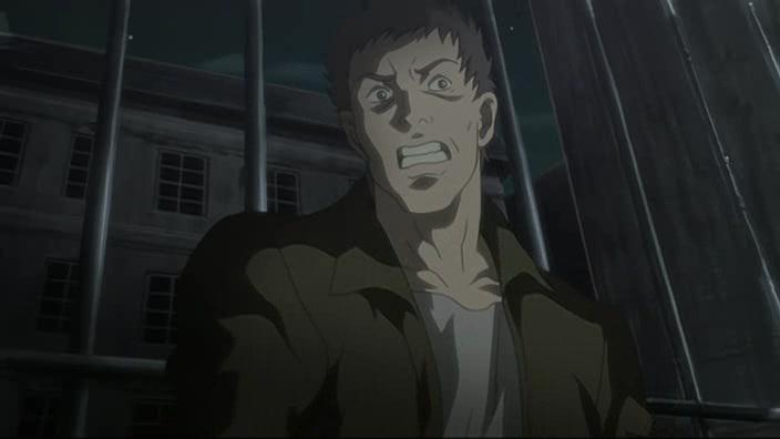 Кадр из аниме Демон против демонов