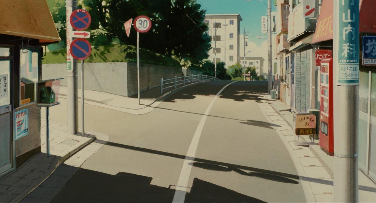 Кадр из аниме Шёпот сердца